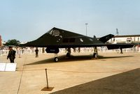 85-0830 @ MHZ - Another view of the 37th Fighter Wing Nighthawk on display at the 1992 Mildenhall Air Fete. - by Peter Nicholson