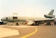 87-0119 @ MHZ - Another view of the KC-10A Extender from March AFB on display at the 1992 Mildenhall Air Fete. - by Peter Nicholson