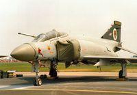 XT914 @ MHZ - Phantom FGR.2 of 74 Squadron at RAF Wattisham on the flight-line at the 1992 Mildenhall Air Fete. - by Peter Nicholson