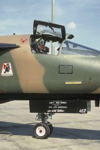 70-2417 @ ETAR - 494th TFS F-111F cockpit section - by Friedrich Becker