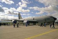 58-0092 @ EGQL - Boeing KC-135R Stratotanker at RAF Leuchars in 1997. - by Malcolm Clarke