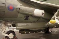 ZD472 @ EGWC - British Aerospace Harrier GR5 replica at RAF Cosford in 1995. - by Malcolm Clarke