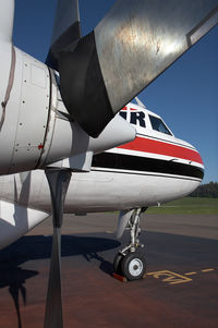 C-FKFL @ CYXS - Conair C580 - by Andy Graf-VAP