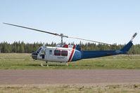 C-GJTH @ CYWL - Black Bomb Bell 205 - by Andy Graf-VAP