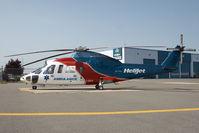 C-GHJV @ CYVR - Helijet Sikorsky S-76 - by Andy Graf-VAP