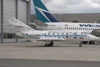 C-GWPB @ CYVR - BCIT Falcon 20 - by Andy Graf-VAP