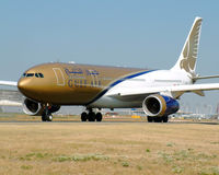 A4O-KE @ LFPG - Gulf Air - by vickersfour