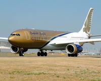 A4O-KE @ LFPG - Gulf Air - by vickersfour