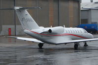 F-GSGL @ EGNX - French Citationjet 3 on East Midlands bizjet ramp