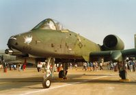 82-0655 @ MHZ - A-10A Thunderbolt of     the 81st Fighter Wing on display at the 1992 Mildenhall Air Fete. - by Peter Nicholson