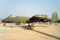 82-0655 @ MHZ - 81st Fighter Wing A-10A Thunderbolt in the static park at the 1992 Mildenhall Air Fete. - by Peter Nicholson