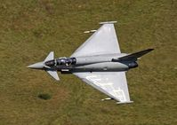 ZH590 - Eurofighter EF2000T (c/n DA4). BAE Trials Flight. M6 Pass, Cumbria. - by vickersfour