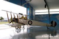 ZK-ACU @ NZMS - The Vintage Aviator Ltd., Wellington - by Peter Lewis