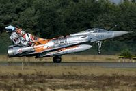 91 @ EBBL - Strange looking Tiger colors on this Mirage 2000 of the French AF. - by Joop de Groot