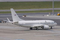 02-0203 @ LOWW - US Air Force 737-700 - by Andy Graf-VAP