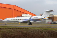 N107VS @ EGGW - G550 at Luton arriving as Bayjet 37 - by Terry Fletcher