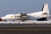 D-FKB @ CGN - with snow - by Wolfgang Zilske