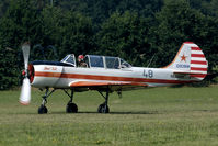 RA-3480K @ EBDT - This former DOSAAF Yak-52 is now active in the warbird cicuit.
