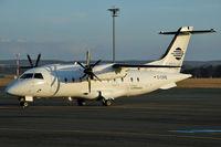 D-CIRE @ EDDR - Cirrus Airlines - by Volker Hilpert