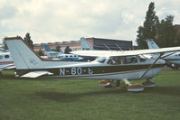 N96098 @ EGTC - 1977 Business and Light Aviation Show. - by MikeP