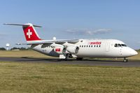 HB-IXS @ ELLX - taxying to the active - by Friedrich Becker