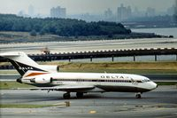 N1636 @ LGA - Boeing 727-95 of Delta Air Lines at La Guardia in the Summer of 1976. - by Peter Nicholson