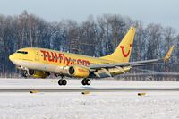 D-AHXB @ LOWS - Tuifly Boeing B737-7K5 landing in LOWS/SZG - by Janos Palvoelgyi