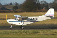 G-CCII @ EGBO - Savannah Jabiru (4) - participant in the 2010 BMAA Icicle Fly-in at Wolverhampton