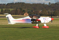 G-CDBY @ EGBO - 2004 built Bambi - participant in the 2010 BMAA Icicle Fly-in at Wolverhampton