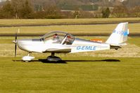 G-EMLE @ EGBO - EV-97 Eurostar - participant in the 2010 BMAA Icicle Fly-in at Wolverhampton