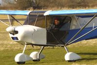 G-CDFP @ EGBO - Skyranger 912 - participant in the 2010 BMAA Icicle Fly-in at Wolverhampton