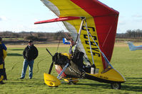 G-CBYF @ EGBO - Microlight participant in the 2010 BMAA Icicle Fly-in at Wolverhampton