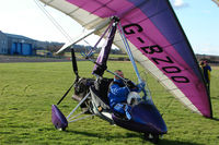 G-BZOO @ EGBO - Microlight participant in the 2010 BMAA Icicle Fly-in at Wolverhampton