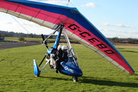 G-CEBD @ EGBO - Microlight participant in the 2010 BMAA Icicle Fly-in at Wolverhampton