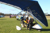 G-BZTU @ EGBO - Microlight participant in the 2010 BMAA Icicle Fly-in at Wolverhampton