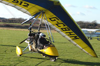 G-CBHM @ EGBO - Microlight participant in the 2010 BMAA Icicle Fly-in at Wolverhampton