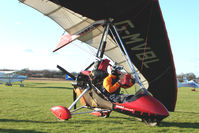 G-MVBL @ EGBO - Microlight participant in the 2010 BMAA Icicle Fly-in at Wolverhampton
