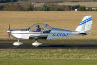 G-CFDJ @ EGBO - EV-97 Eurostar - participant in the 2010 BMAA Icicle Fly-in at Wolverhampton