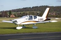 G-GMSI @ EGBO - Part of a busy aviation scene at Wolverhampton (Halfpenny Green) Airport on a crisp winters day