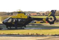 G-HEOI @ EGBO - Part of a busy aviation scene at Wolverhampton (Halfpenny Green) Airport on a crisp winters day