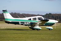 G-JANT @ EGBO - Part of a busy aviation scene at Wolverhampton (Halfpenny Green) Airport on a crisp winters day