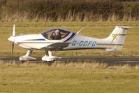 G-CCFG @ EGBO - Part of a busy aviation scene at Wolverhampton (Halfpenny Green) Airport on a crisp winters day