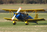 G-YPSY @ EGBO - Part of a busy aviation scene at Wolverhampton (Halfpenny Green) Airport on a crisp winters day