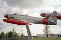 DT-289 @ EKBI - Lockheed T-33A at Mobillium, the Danish Air Museum, Billund, Denmark (now closed) in 1994. Ex USAF 51-9289. - by Malcolm Clarke