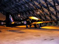 ZF449 @ EGOS - Shorts Tucano T.1 in storage at RAF Shawbury - by Chris Hall