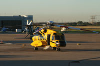 N992PH @ GLS - PHI Helicopter at Galveston - by Zane Adams