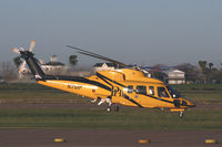 N761P @ GLS - PHI Helicopters at Galveston - by Zane Adams
