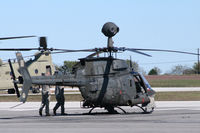 91-0559 @ JWY - US Army OH-58D at Midway Airport (Midlothian, TX)
