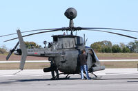 94-0058 @ JWY - US Army OH-58D at Midway Airport (Midlothian, TX)