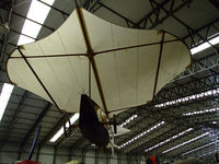 BAPC089 @ EGYK - Cayley glider on display at Yorkshire air museum,Elvington - by Mike stanners